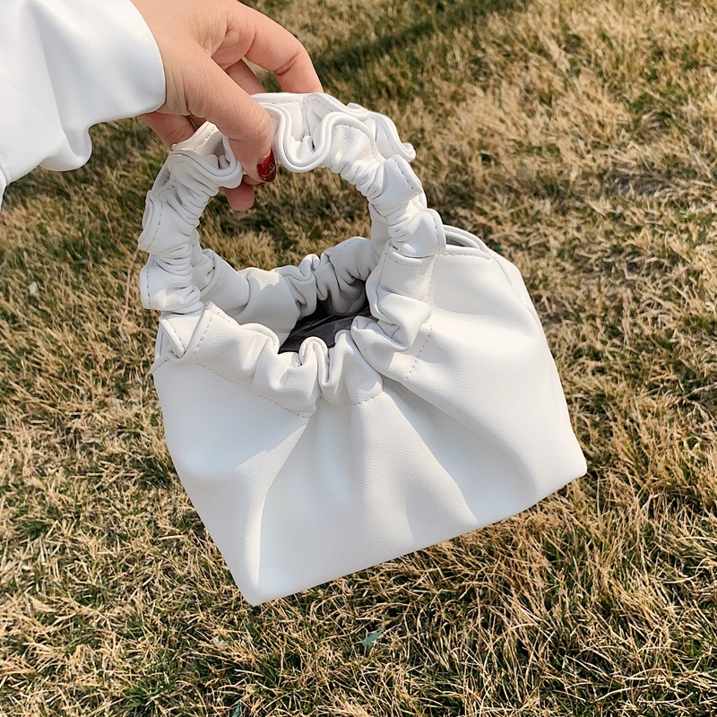 Elegant Female Solid color Tote bag 2020 Fashion New Quality PU Leather Women's Designer Handbag Casual Shoulder Messenger Bag