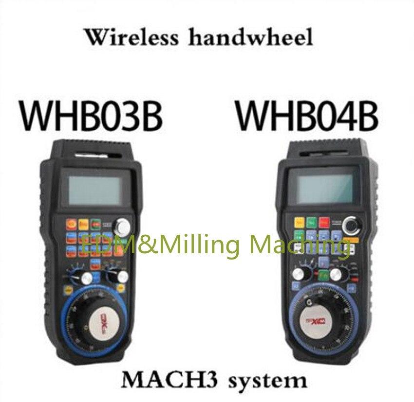 1 قطعة عالية الجودة النقش آلة WHB04B-4 اللاسلكية CNC الإلكترونية عقارب التحكم عن بعد WHB04B-6 دائم جديد