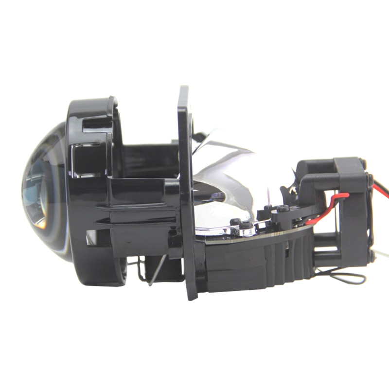 SHUOKE 2 uds 3,0 pulgadas LHD RHD Bi LED proyector coche lente de la linterna de motocicleta para bmw f31335i f01 faro e90 tuning x5 e53