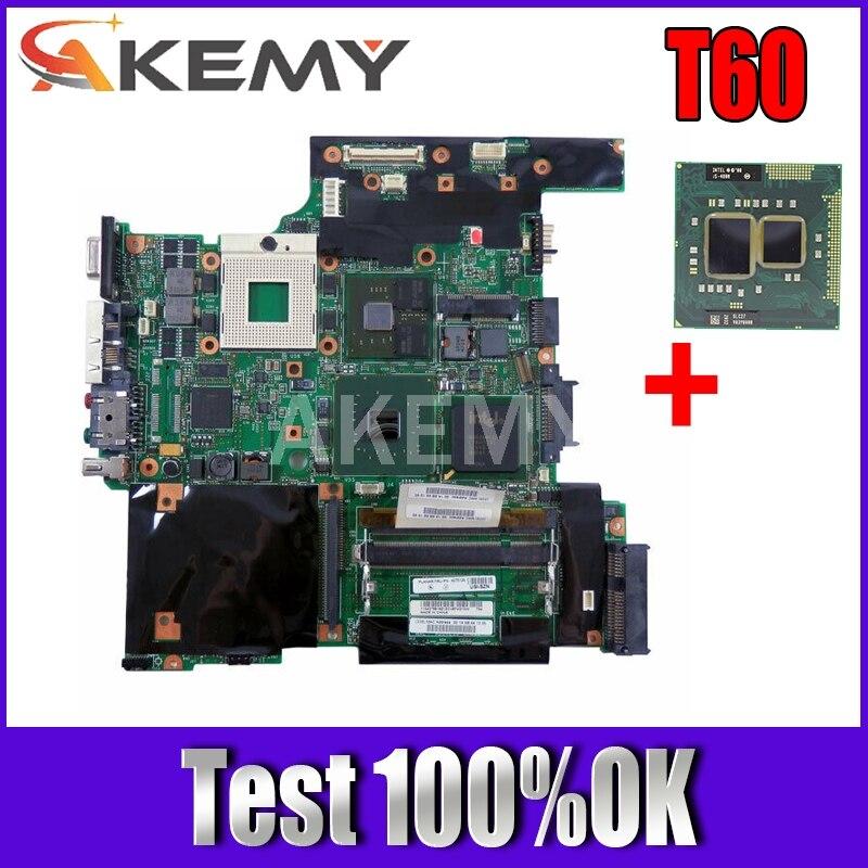 Akemy لينوفو ثينك باد T60 14.1 الكمبيوتر المحمول اللوحة 42T0122 945PM DDR2 الحرة وحدة المعالجة المركزية X1400 الرسومات