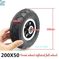 thickened 200x50 outer tire 200 50 inner tube 8 inch electric scooter inner and outer tire belt punching inflated rear wheel