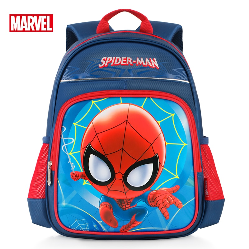 Authentic Authorized Disney Spider-man Primary School Schoolbag Boys Large Capacity 6-10 Year Old Backpack Children's Backpack