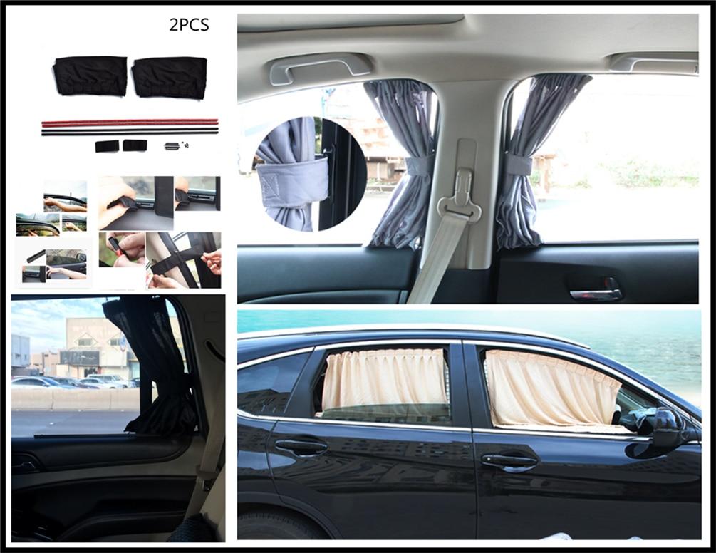 2 pçs estilo do carro janela de vidro sol sombra proteção uv privacidade para skoda opel daf ram caminhões paccar ford otosan chrysler