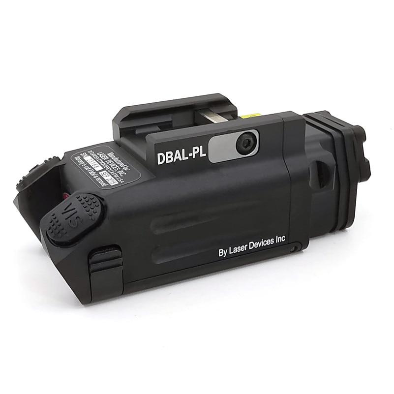 Tactical Weapons DBAL-PL IR Laser/IR Light/Strobe/Red laser & 400 Lumens weapon Light Rifles Flashlight gun light