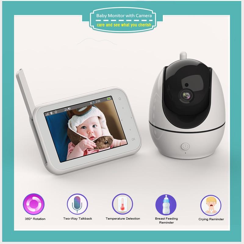 Sailvde مراقبة الطفل مع كاميرا الإلكترونية سجل مربية اللاسلكية اللون مراقبة Sicurity 2 طريقة الكلام رصد درجات الحرارة