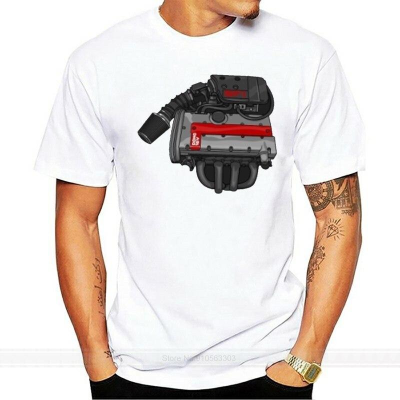 Nueva camiseta de manga corta informal de verano para hombre C20XE DOHC, camiseta a la moda, camiseta de marca de algodón para hombre