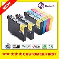 Compatible Ink Cartridge for Epson T1281 T1282 T1283 T1284 For Epson Stylus S22 SX125 SX130 SX230 SX235W Office BX305F etc.