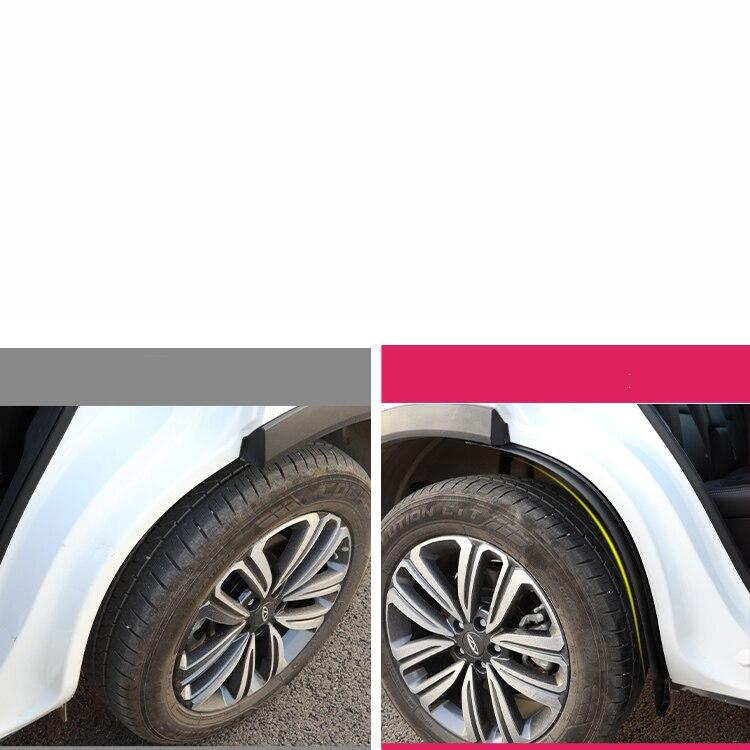 واقي من الطين لعجلة السيارة ، Abs متين ، لشيري تيجو 8 2018 2019 2020 ، ملحقات حماية ، Lsrtw2017