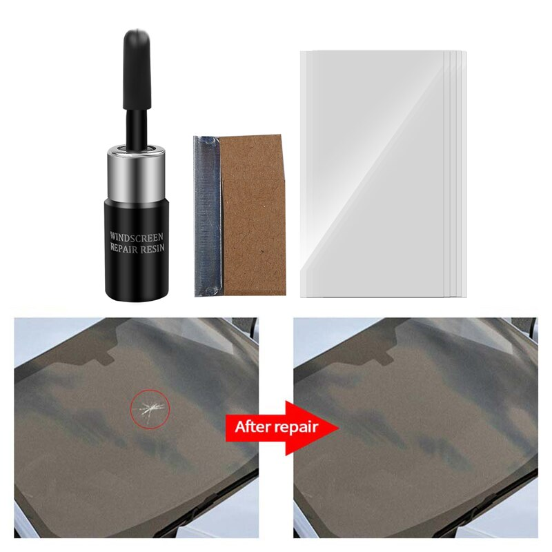 Kit de reparación de cristal para parabrisas de coche, herramienta de mantenimiento para peugeot 308 kia sorento rav4 hyundai ix25 mitsubishi asx