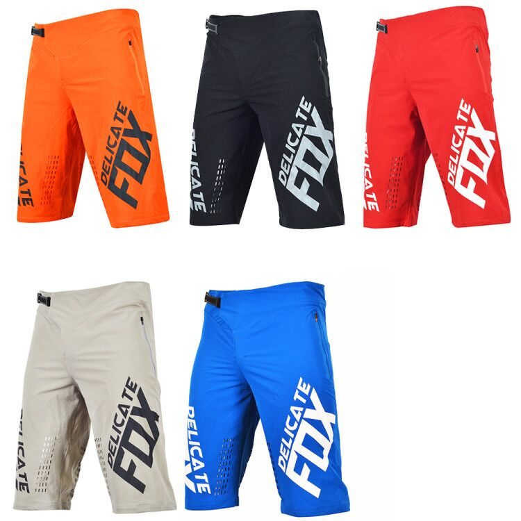 Delicate Fox Defend Shorts Mountain Bicycle Offroad Racing Motorcycle Motorbike Summer Short Pants Mens