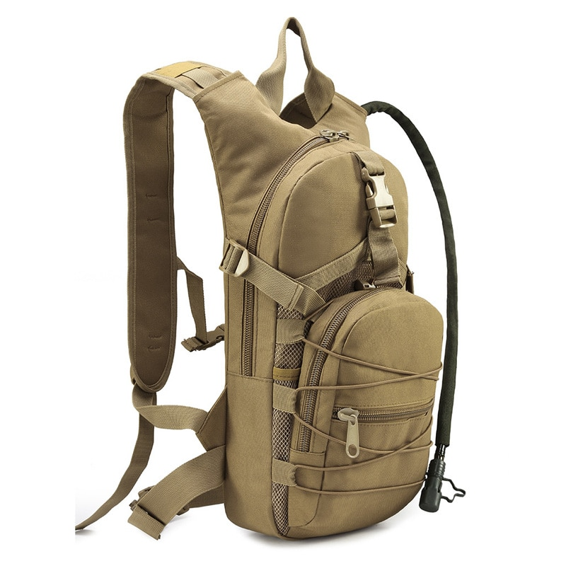 15L militar táctico entrenamiento camuflaje mochila con 3L TPU agua Bladder ejército Daypack bolsas para la caza ciclismo escalada correr Ciclismo Camping Montañismo Deporte al aire libre