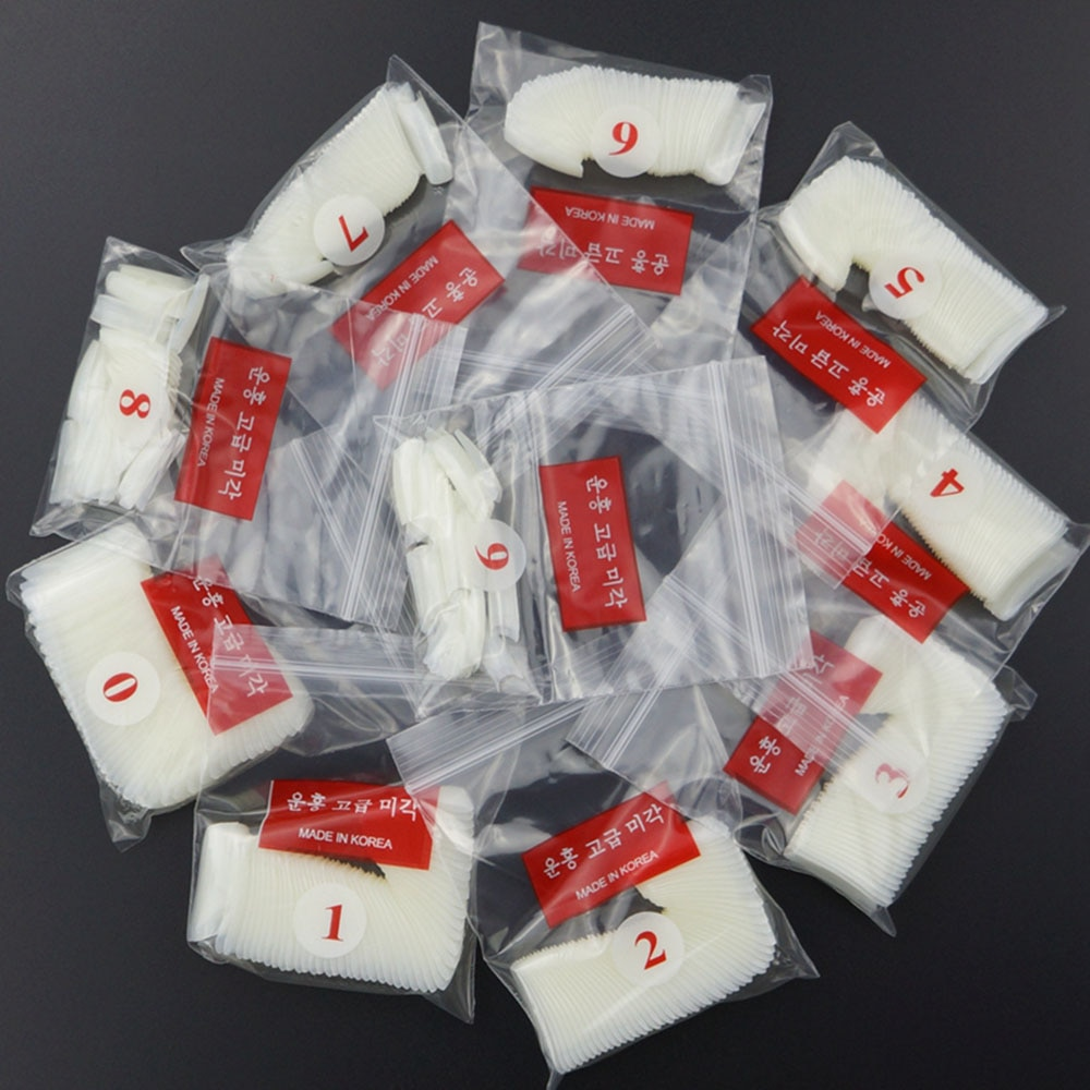 500 Uds Blanco/claro/Natural ataúd francés uñas postizas bailarina uñas postizas para UV LED Gel manicura uñas postizas acrílicas # FRS44