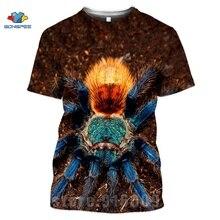 Anime t-shirts 3D impression Animal araignée T-shirt Streetwear insecte dessin animé hommes femmes mode T-shirt Harajuku chemises Homme T-shirt