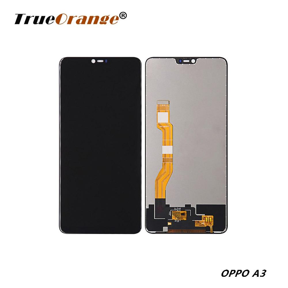 Pantalla Original de 6,23 pulgadas para Oppo A3/Oppo F7 LCD, montaje de digitalizador con pantalla táctil con marco de repuesto, pieza de reparación