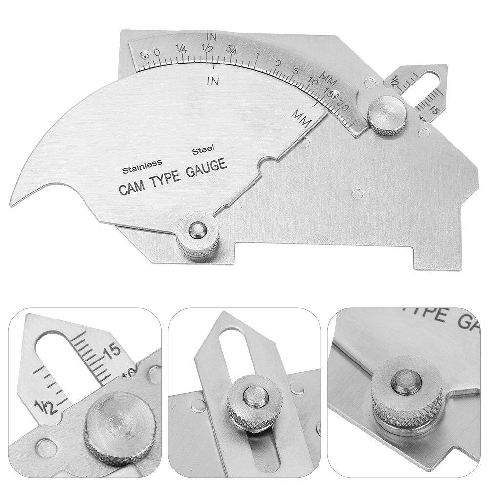 Сварочный измеритель параметров, тестер сварки, выпуклый зеркальный измерительный инструмент, многофункциональный измерительный инструм...
