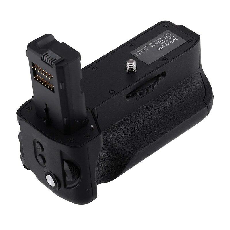 Substituição quente do aperto da bateria Vg-C2Em para o trabalho da câmera digital slr de sony alpha a7ii/a7s ii/a7r ii com bateria Np-Fw50