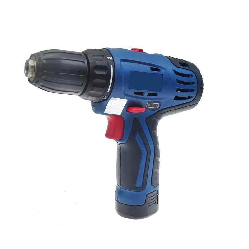 Rechargeable Electric Hand Drill 12V Lithium Battery Dcjz10-10b Electric Screwdriver 2.0 Two Speed One Electricity One Charge