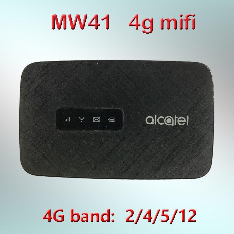 unlocked Alcartel linezone hotspot MW41 4G LTE cat4 WiFi router FDD LTE B2/4/12 150Mbps 4G mifi pocket wifi lte router mifi5792
