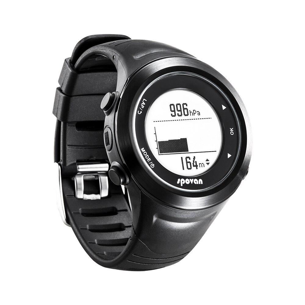Three sensors -- Barometric pressure, temperature, altitude -- Smart Sports Watch, GPS origin navigation