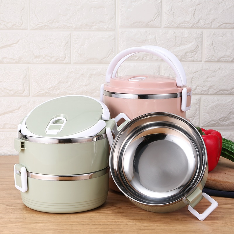 304 Stainless Steel Lunch Box For Kids School Children Hot Food Bento Box Leakproof Japanese Style Food Containers With Lids