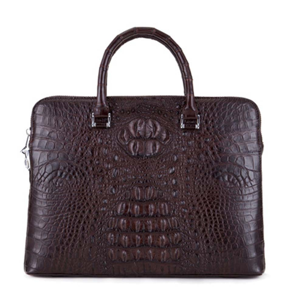 ousidun new  crocodile bag  Men handbags  business  male  handbag   large capacity  male  briefcase men bag