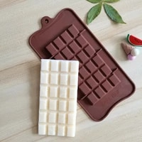 hot 2021 new silicone full page 24 block waffle chocolate mold cake jelly candy moulds accessories reusable baking tools