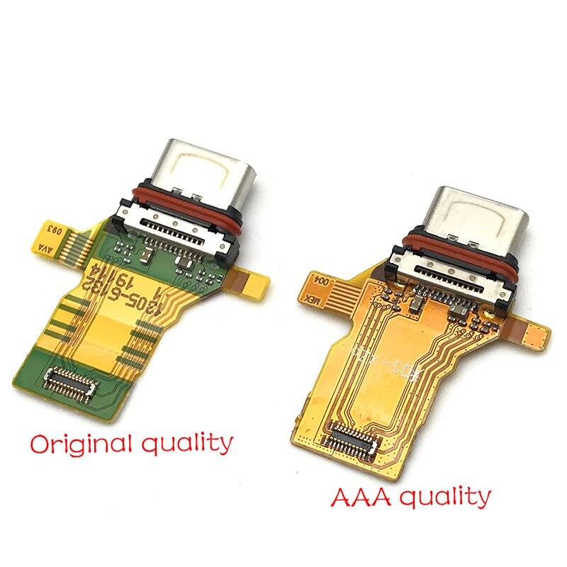 Para Sony Xperia xz Premium XZP G8142 puerto de carga USB conector de clavija Cable Flex 1 Uds