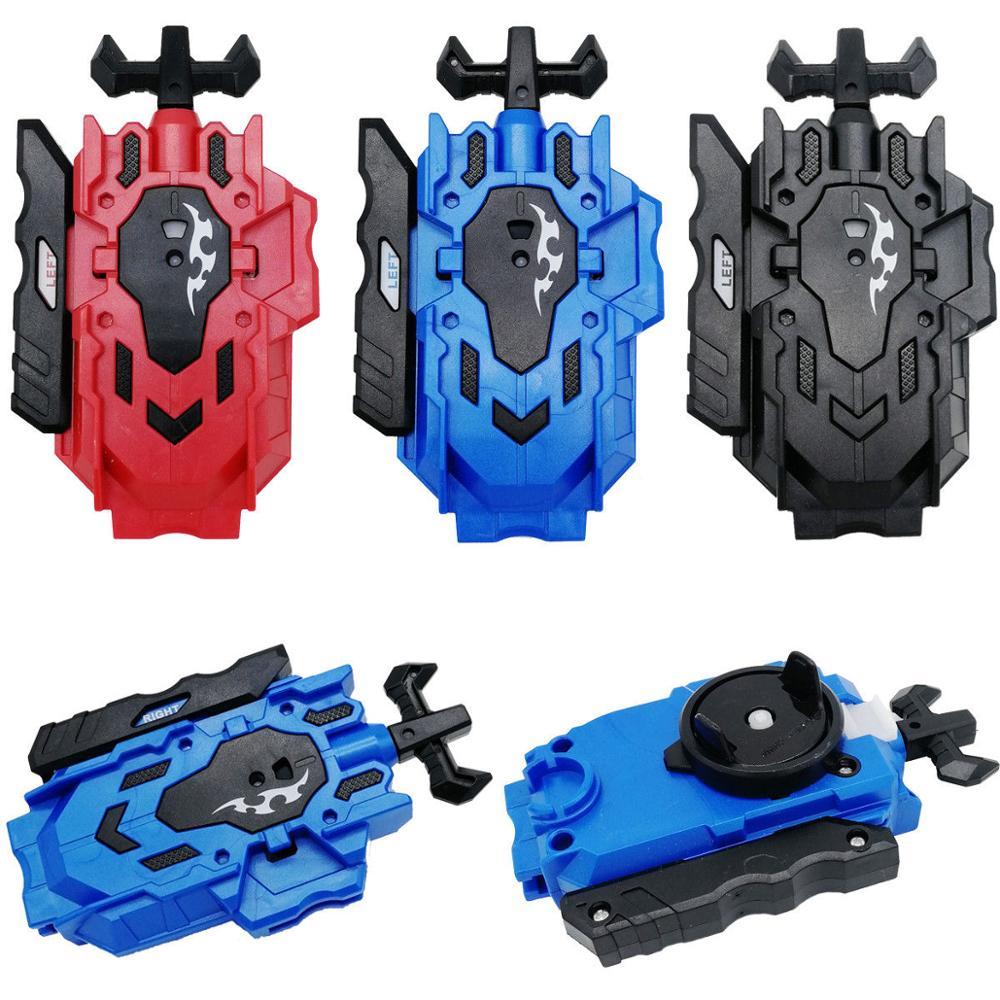 Купить с кэшбэком B-88 Beyblade Burst Launcher LR Burst String Launcher Ripper + Grip Set Handle Grip Children Kids Toys Accessories