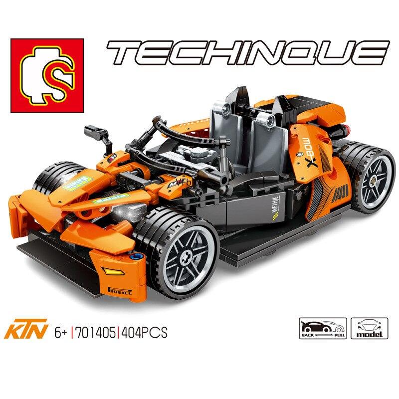 Bloques SEMBO, coche de juguete extraíble, bloques de construcción, modelo de vehículo famoso, juguetes para niños, regalos de cumpleaños para hombre, juguetes 701405