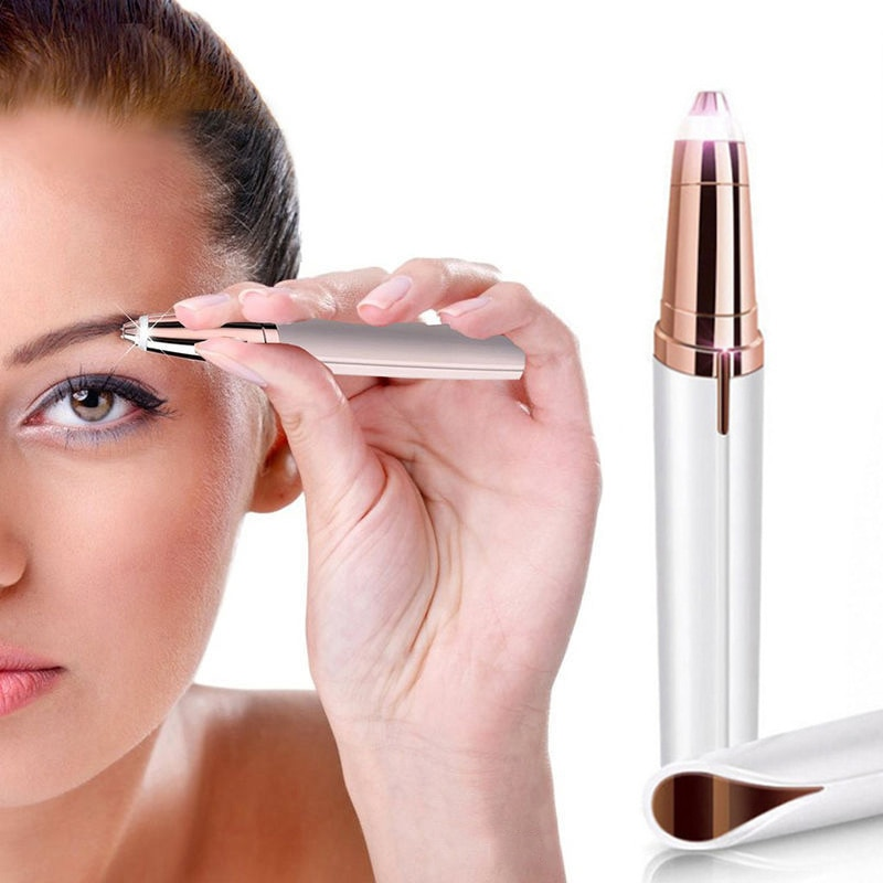 Eyebrow Epilator Maquiagem Profissional Completa Trymer Do Brwi Eye Brow Trimmer For Rasoir Visage F
