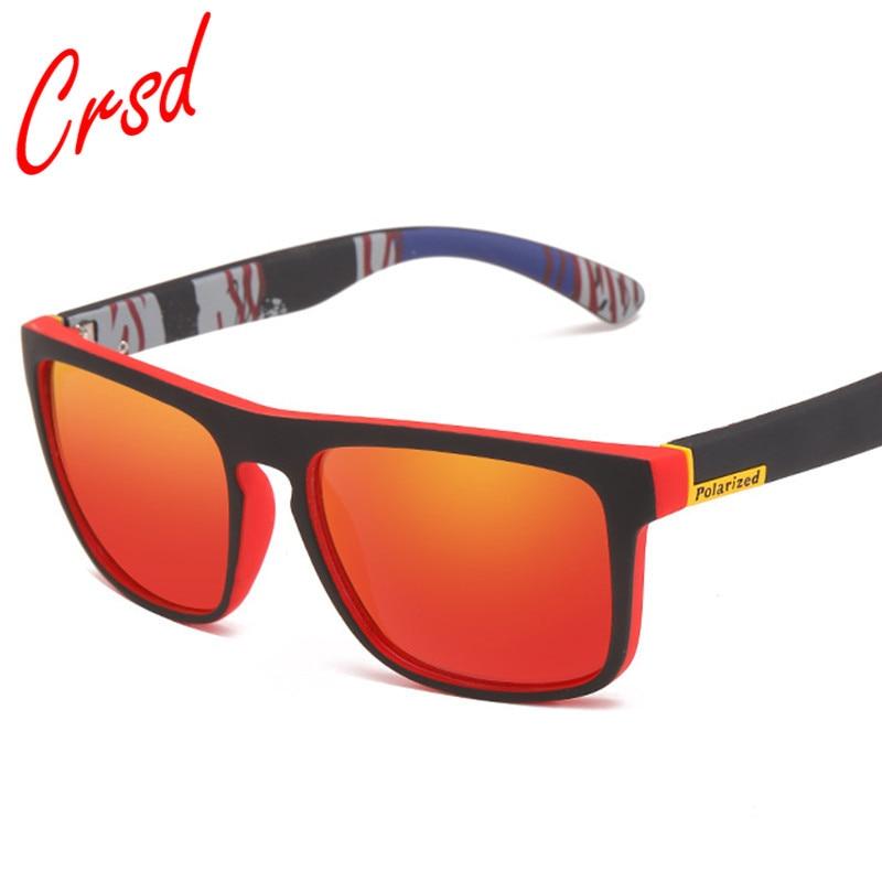 Солнцезащитные очки CRSD мужские, модные роскошные Поляризационные солнечные очки с защитой UV400 для вождения и рыбалки, винтажные классическ...