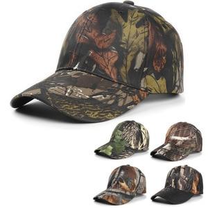 Army Fan Outdoor Bionic Camouflage Baseball Cap Men's Hat Cotton Sunscreen Fishing Hat Cap