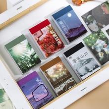 50 blätter Landschaft rose ins Dekorative Aufkleber Scrapbooking Stick Label Tagebuch Album schreibwaren malerei Aufkleber Zubehör