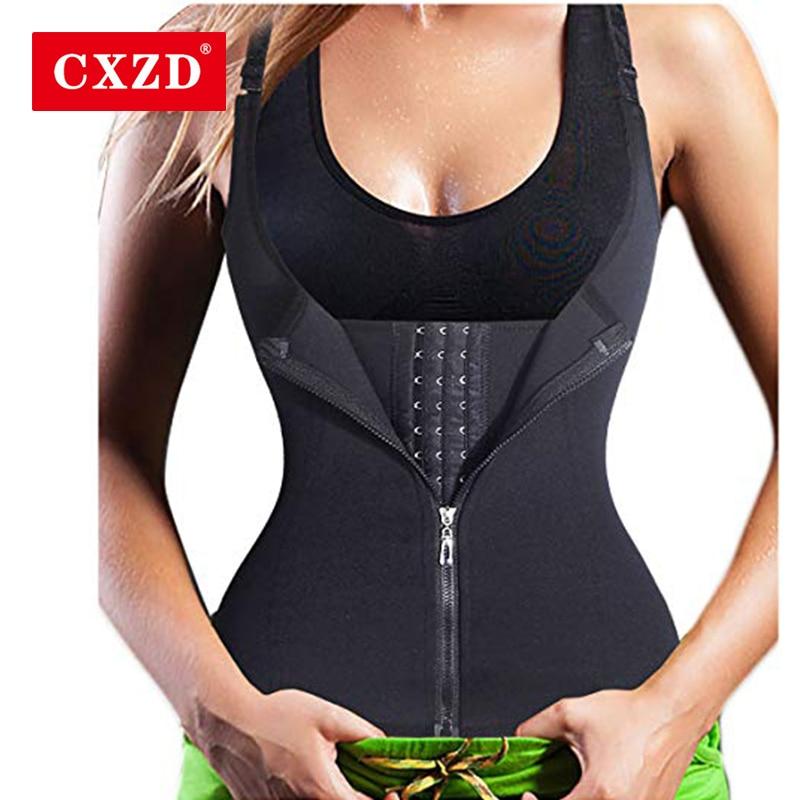 CXZD регулируемое нижнее белье для похудения, Корректирующее белье, корсет для талии, Женский корсет для похудения, моделирующий ремень, корсет для похудения, жилет