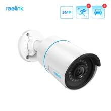 Reolink Smart IP Camera 5MP PoE Outdoor Infrared Night Vision Bullet Camera Featured with Person/Veh