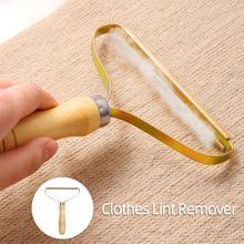Removedor de pelusa portátil para ropa, afeitadora de tela, herramienta de cepillo, rodillo de eliminación de pelusa sin energía para suéter, abrigo tejido