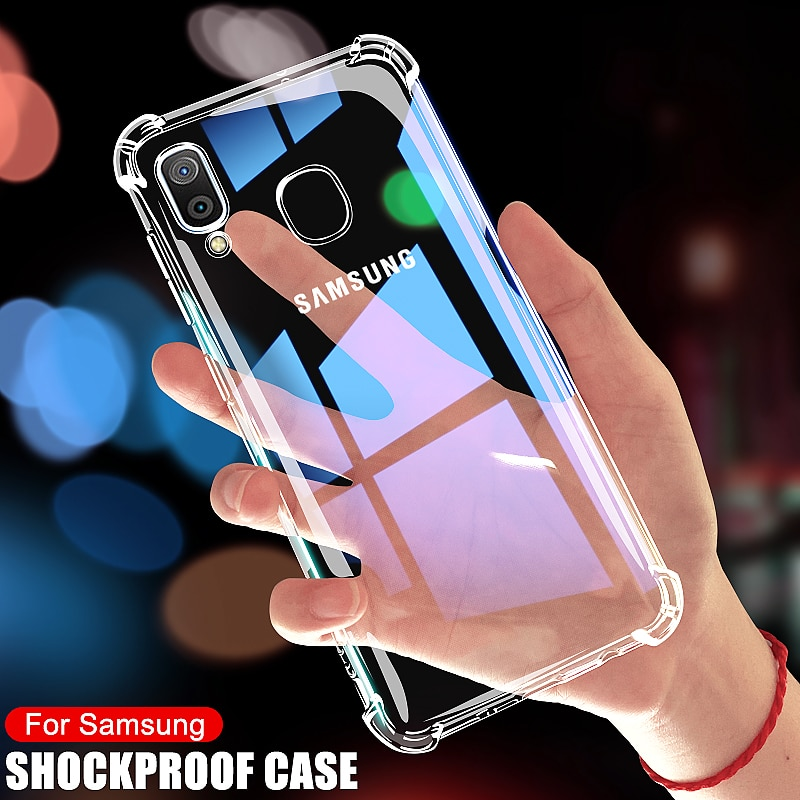Luxury Shockproof Case For Samsung Galaxy A10 A20 A30 A40 A50 A60 A70 A80 A90 A01 A51 A71 M10 M20 M30 M40 A20E A30S Case Cover