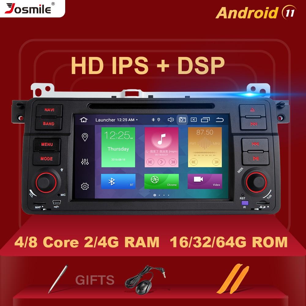 Автомобильный DVD-плеер DSP IPS Android11 для BMW E46 M3 318i/320/325/330/335 Rover 75 MG ZT Coupe радио GPS навигация Carplay RDS Wifi