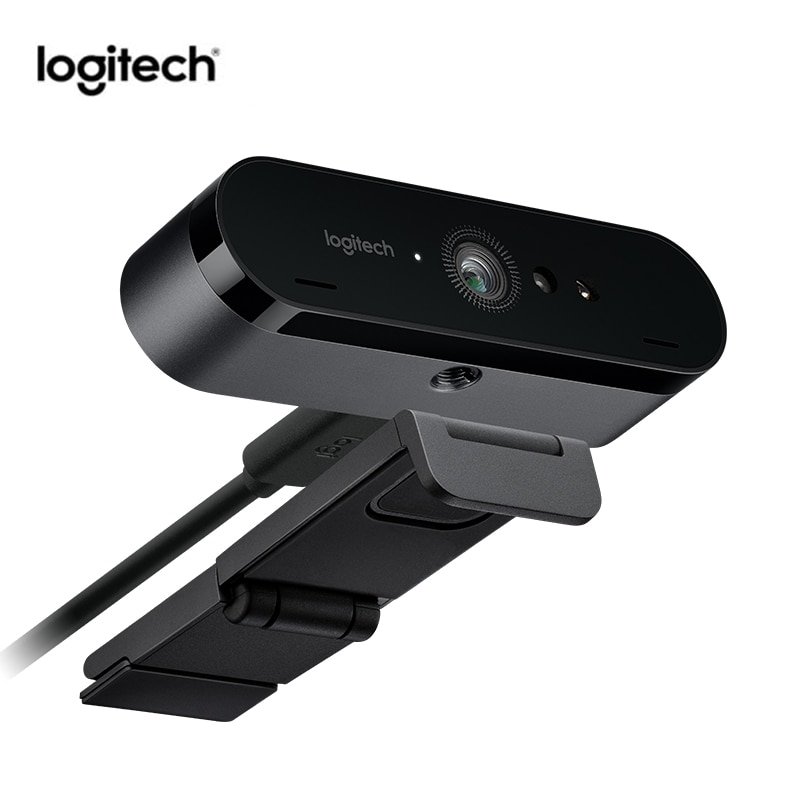 لوجيتك-كاميرا ويب C1000e BRIO 4K ، مع ميكروفون ، زاوية عريضة ، Ultra HD 1080p ، مؤتمرات فيديو