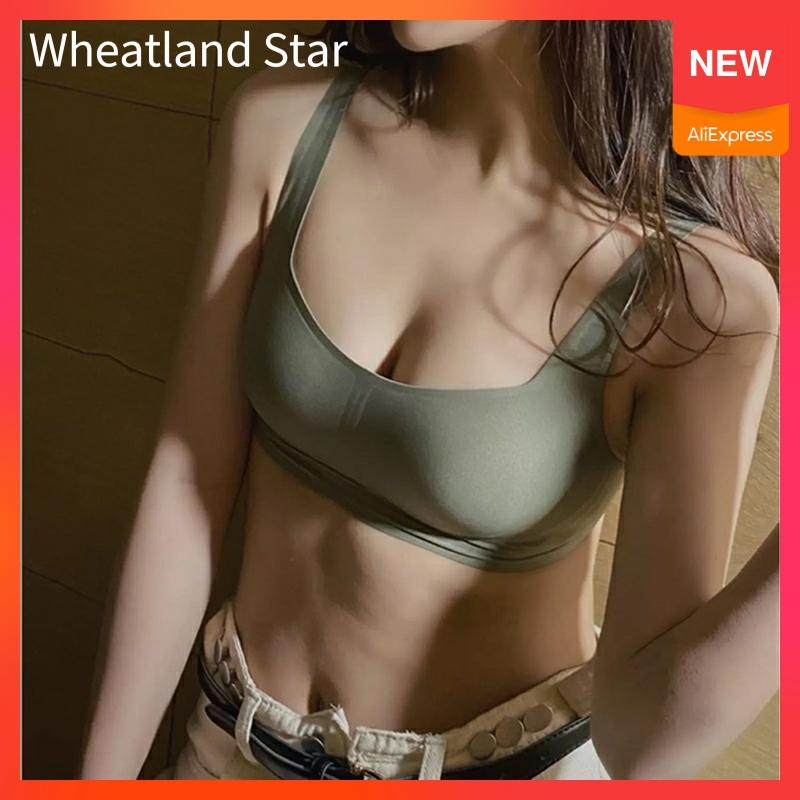 Seamless Bra Wire Free Brassiere Top Natural Rubber Pad Women's Underwear Sexy Intimates Women's Lingerie Underwear & Sleepwears