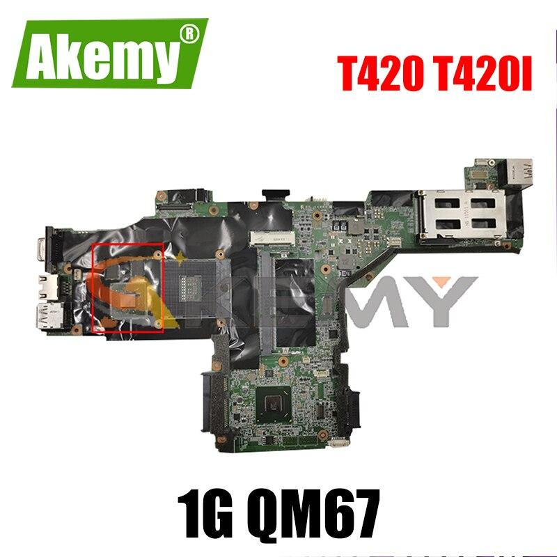 Akemy لينوفو ثينك باد T420 T420i اللوحة المحمول FRU 04W2049 63Y1997 63Y1991 63Y1996 N12P-NS1-S-A1 1G QM67 100% اختبار