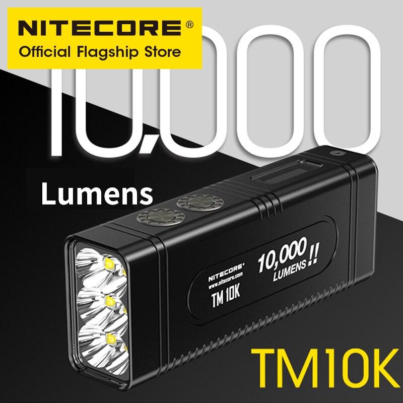 nitecore lanterna de 6 metros tm10k bateria de 10000 lumens para operacoes pequeno