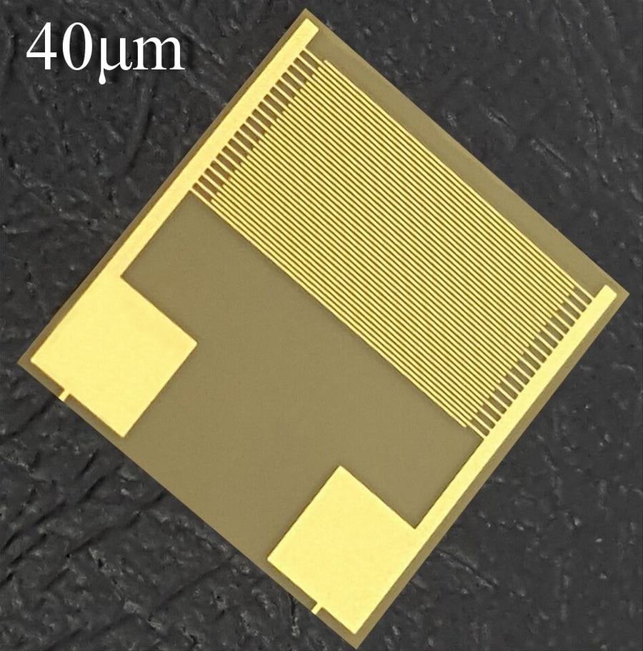 40um Flexible Interdigital Electrode PI Sensor Chip Capacitor Array