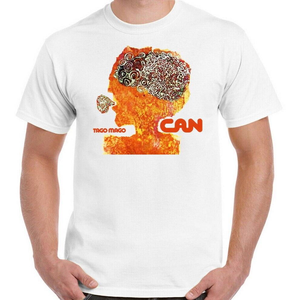 Camiseta para hombre Can Tago Mago, camiseta para hombre Krautrock, álbum alemán Unisex, camiseta artística m xl 2xl 3xl