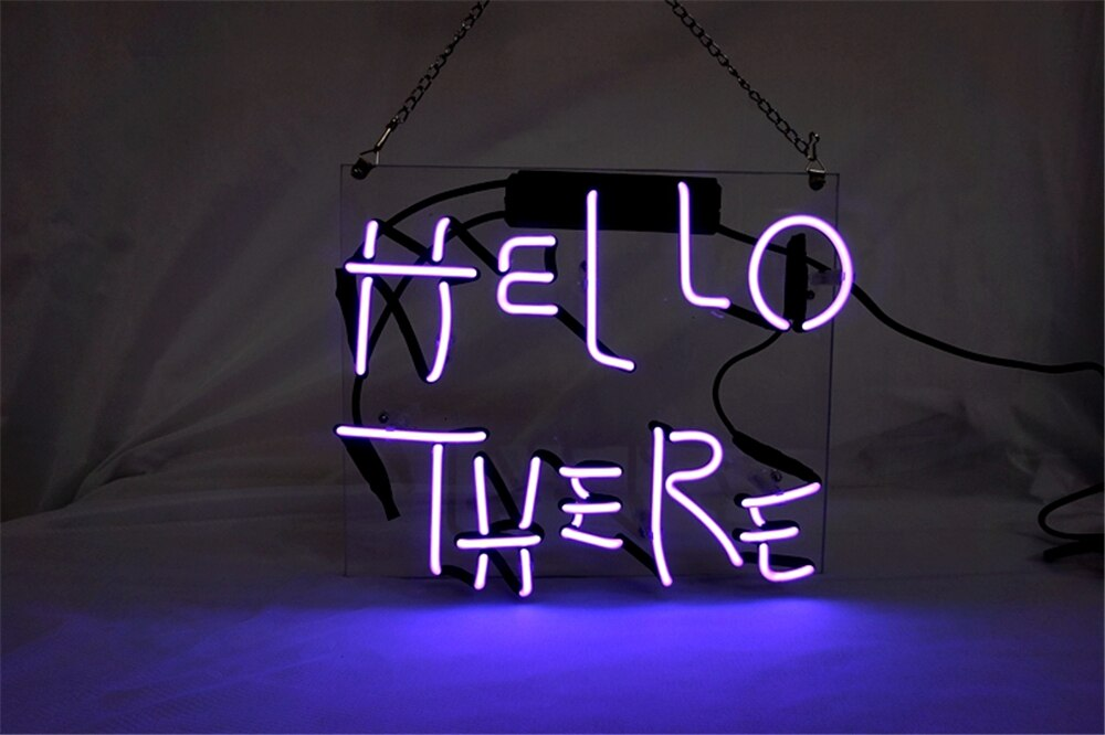 مصباح نيون للديكور المنزلي ، علامة ضوء نيون مع اسم شخصي ، شريط بيرة ، متجر مفتوح ، شاشة عرض ، مرحبا ، أرجواني ، 12'X10''