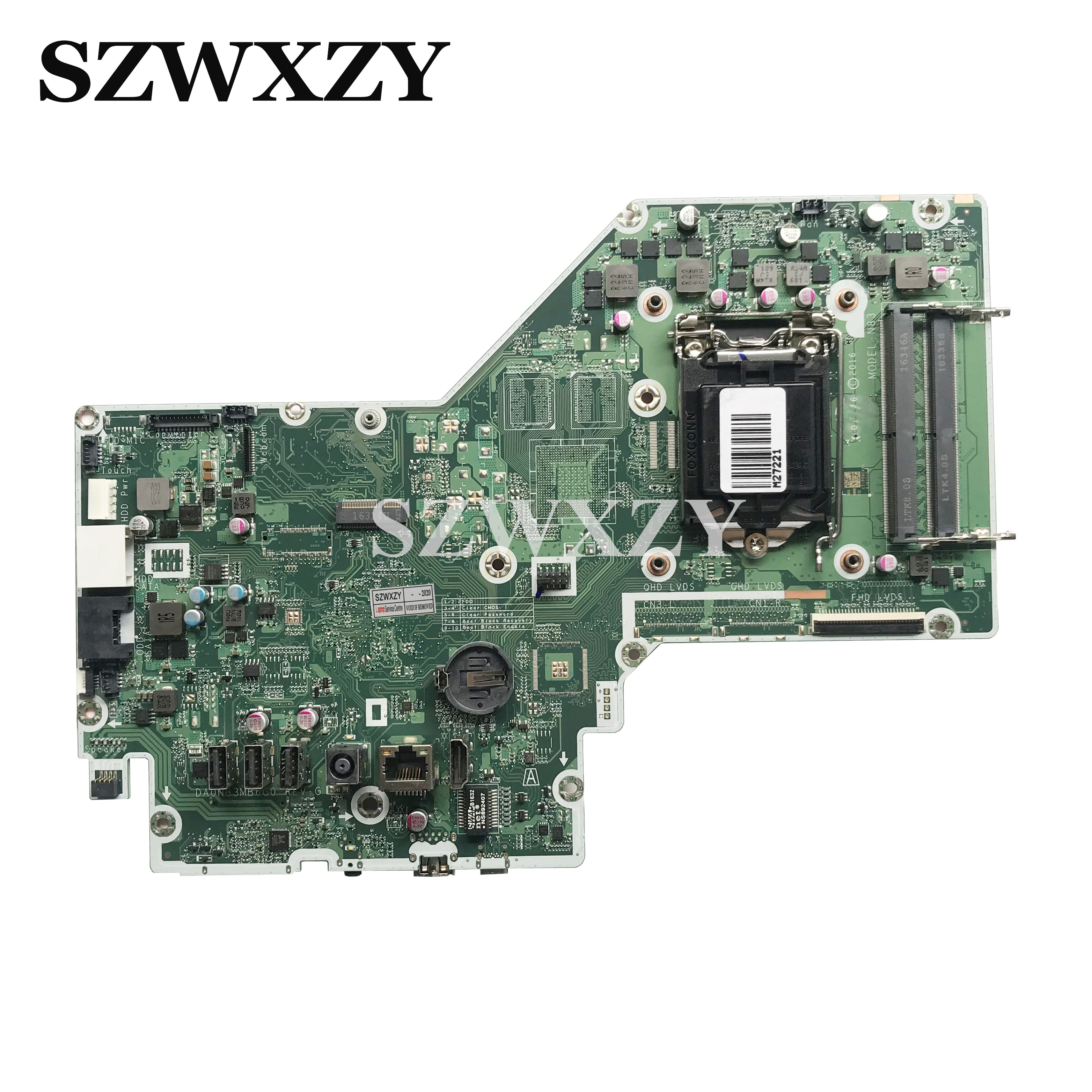 Para HP Pavilion 24-B 24-B223W AIO placa base DA0N83MB6G0 908895-604 LGA 1151 DDR4