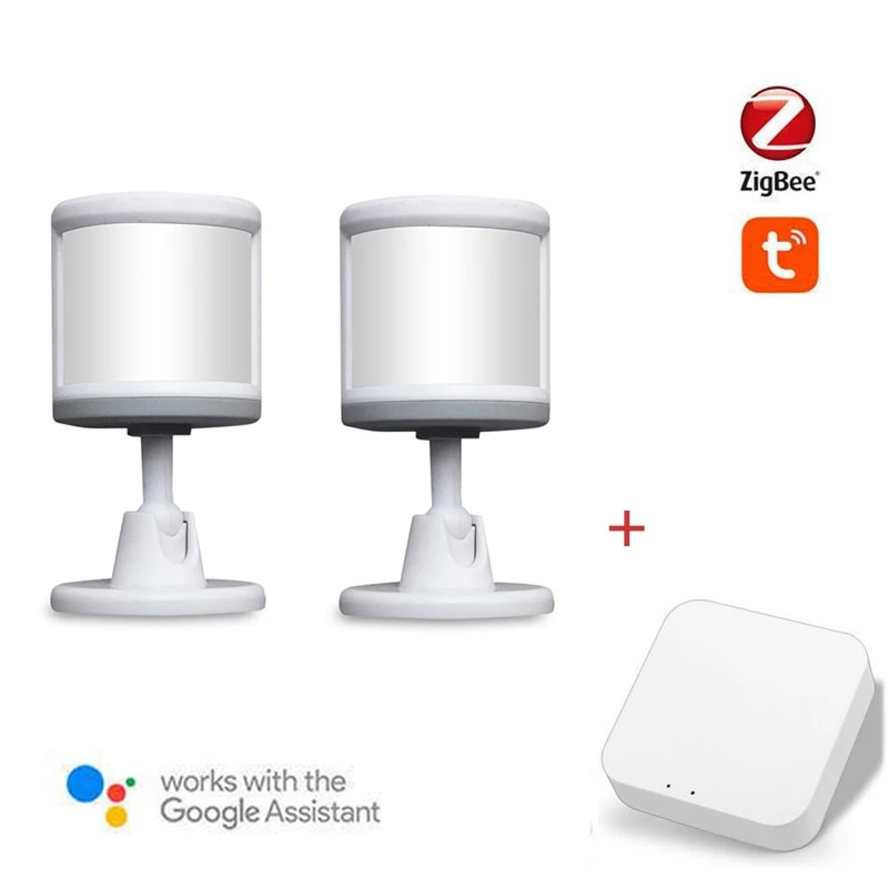 Tuya ZigBee Motion Sensor Smart Human Body Sensor Body Movement Wireless ZigBee Wifi Gateway Hub For ZigBee 3.0 Smart Home