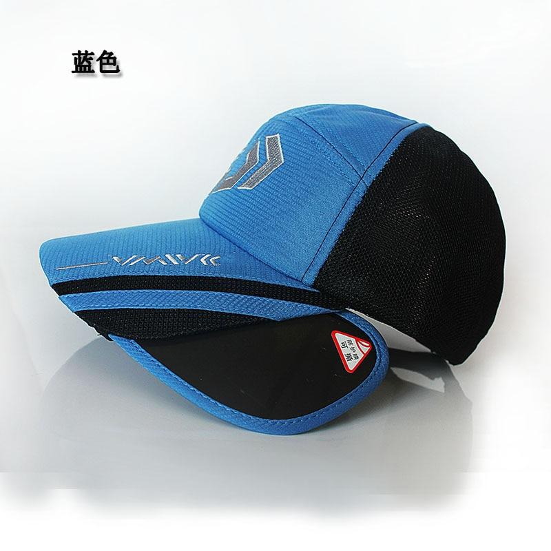2020 Daiwa Summer Sun Protection Fishing Hat Breathable Outdoor Sports Hat Dawa Fishing Cap with Big Brim Fishing Apparel enlarge