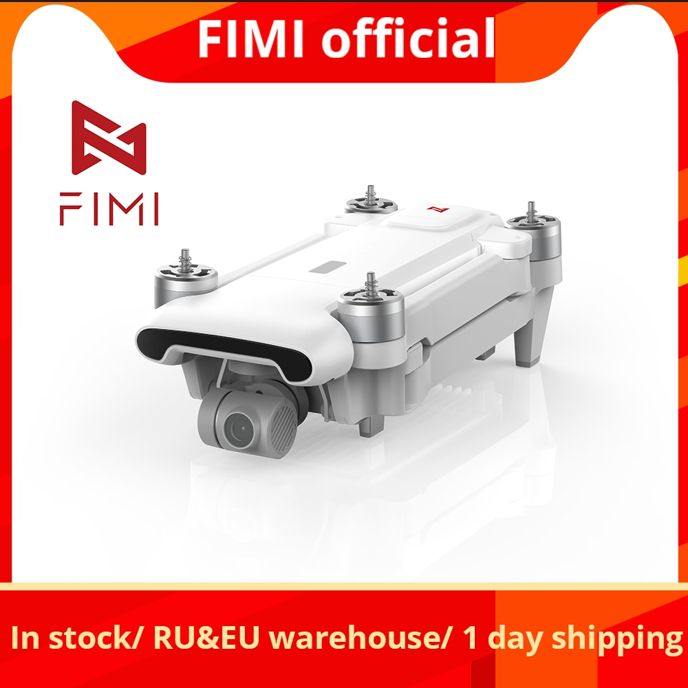 FIMI X8SE 2020 Camera Drone Quadcopter RC Helicopter 8KM FPV 3-axis Gimbal 4K Camera GPS RC Drone Qu