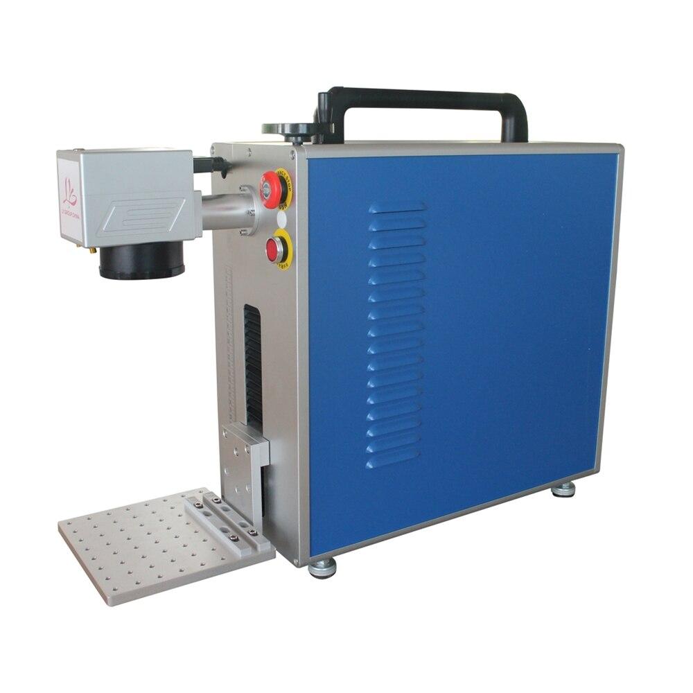 LY-آلة وسم ليزر الكل في واحد ، محمولة ، ألياف 20 واط ، للفولاذ المقاوم للصدأ ، النقش بالليزر المعدني